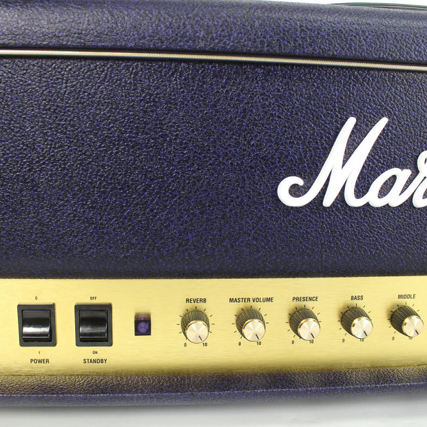Vintage marshall amps by model